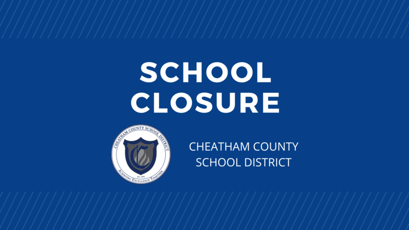The Cheatham County School District will be closed on Monday, Nov. 23 and Tuesday, Nov. 24.
