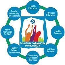 The 8 components of Coordinated School Health