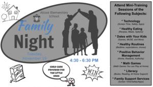 AES Family Training Night