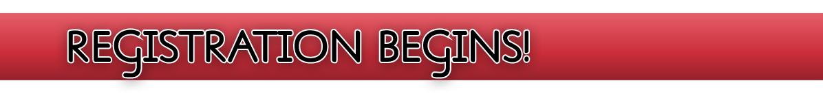 Title Banner: Registration Begins!
