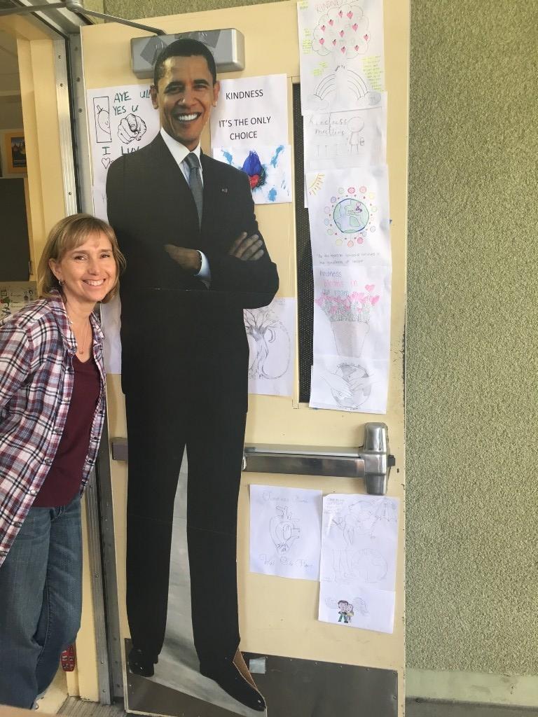 Ms. Tyni and Rm. 153 door