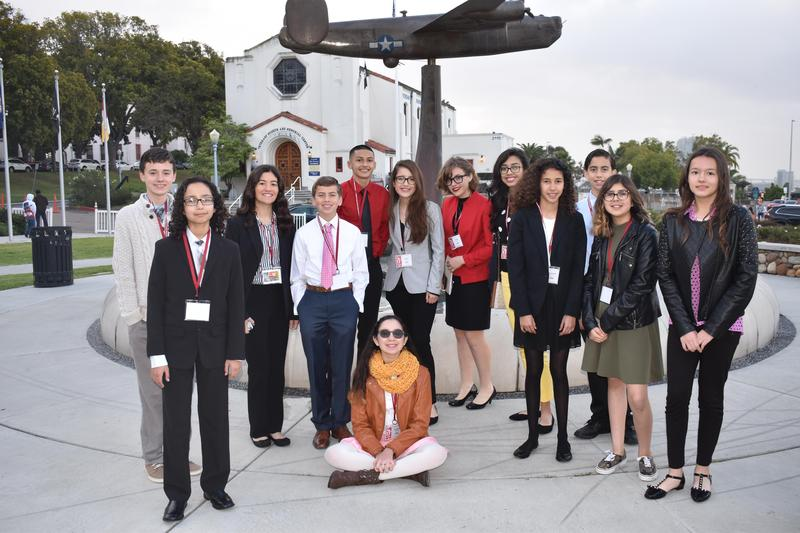 Corfman Students Take on the Greater San Diego Science and Engineering Fair Thumbnail Image