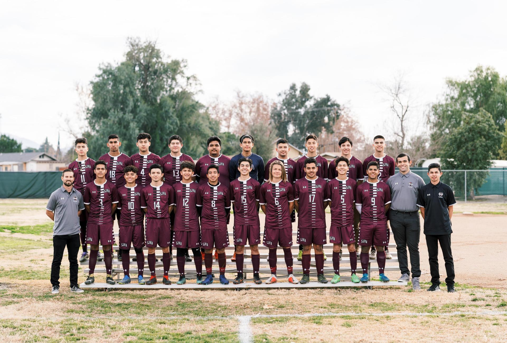 2018-2019 Varsity Boys Soccer