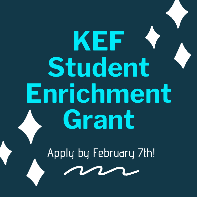 Apply now for a KEF Grant! Featured Photo