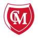 Chief Moses Shield Logo (Red with White CM initials)