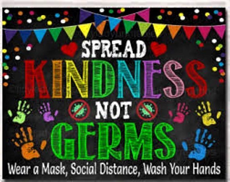 Spread Bulldog Kindness, NOT Germs!