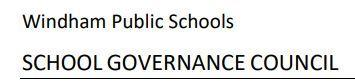 School Governance Council Election Results at Sweeney School Thumbnail Image