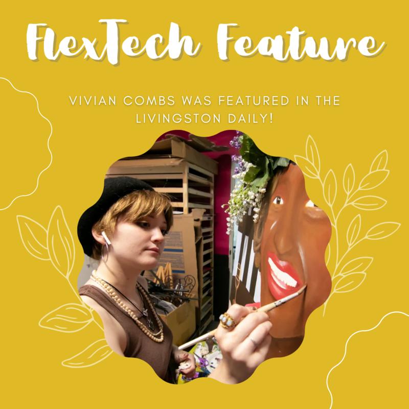 FlexTech Feature with Vivian Combs