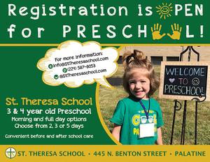 Enroll in Preschool