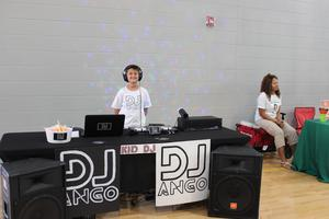 Kid DJ at Expo