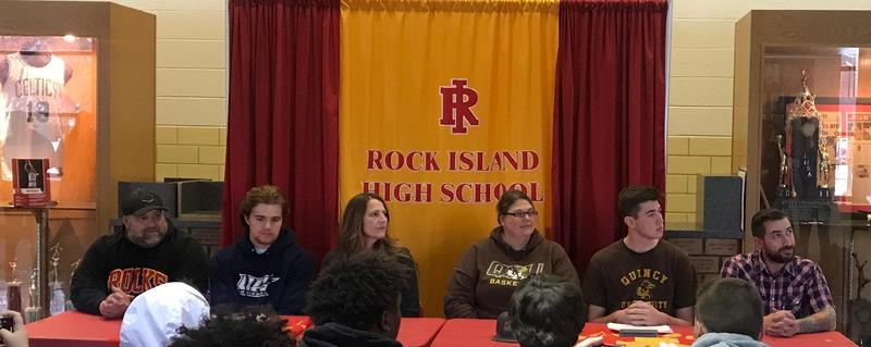 Rock Island High School Athletes Sign Letters of Intent Featured Photo