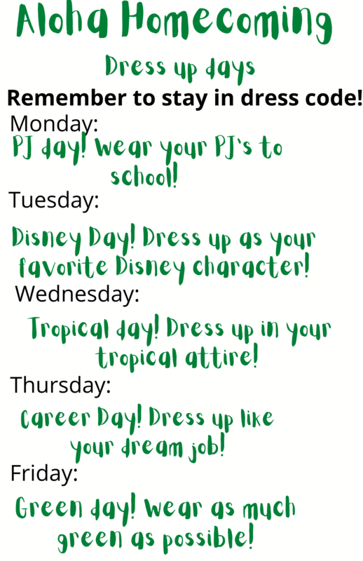 Homecoming Dress up Week Featured Photo
