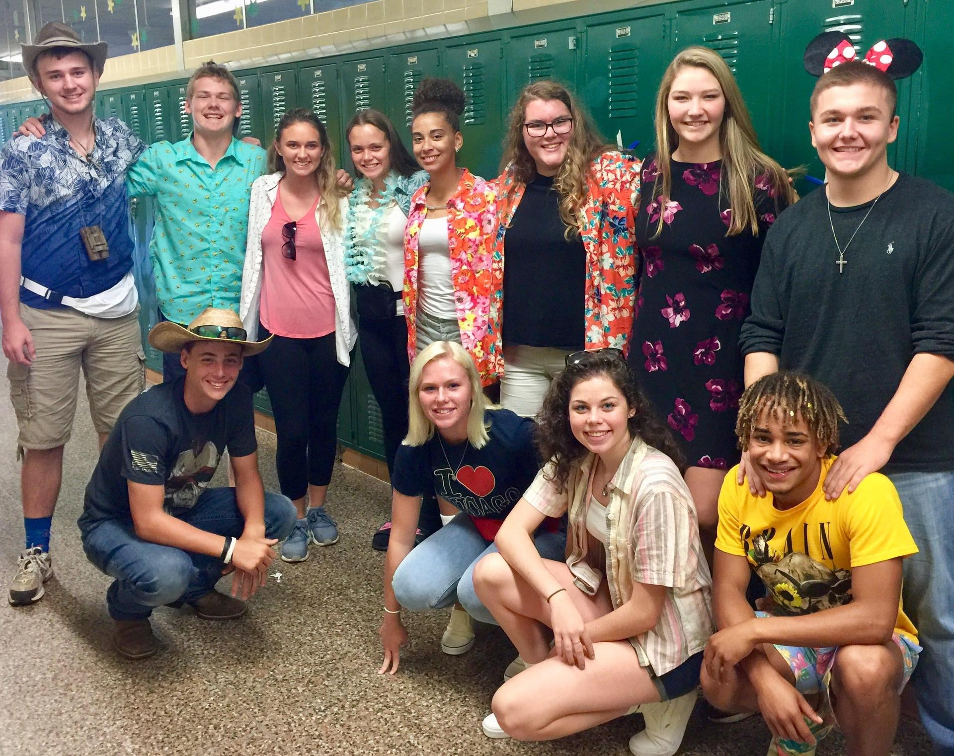 5th hour 'Tourists' for HoCo 2018