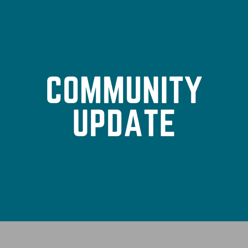 Community Update, March 20, 2020 @ 4PM Thumbnail Image