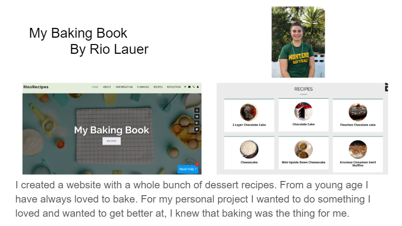 Rio's Personal Project
