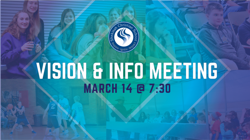 Vision & Info Meeting | March 14, 2019 @ 7:00p Thumbnail Image