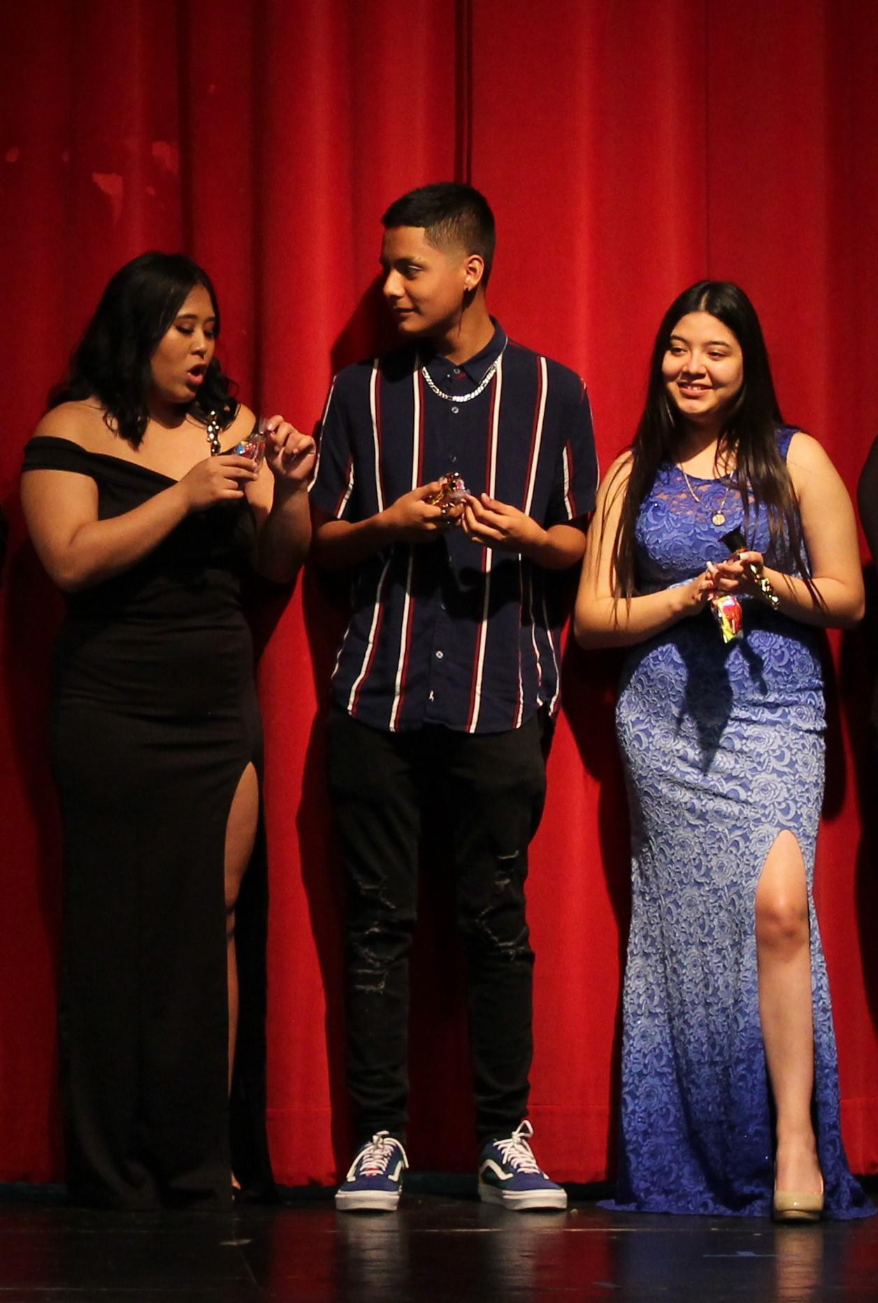 Bianca Solidum, Sebastian Vega, and  Karla Ceja