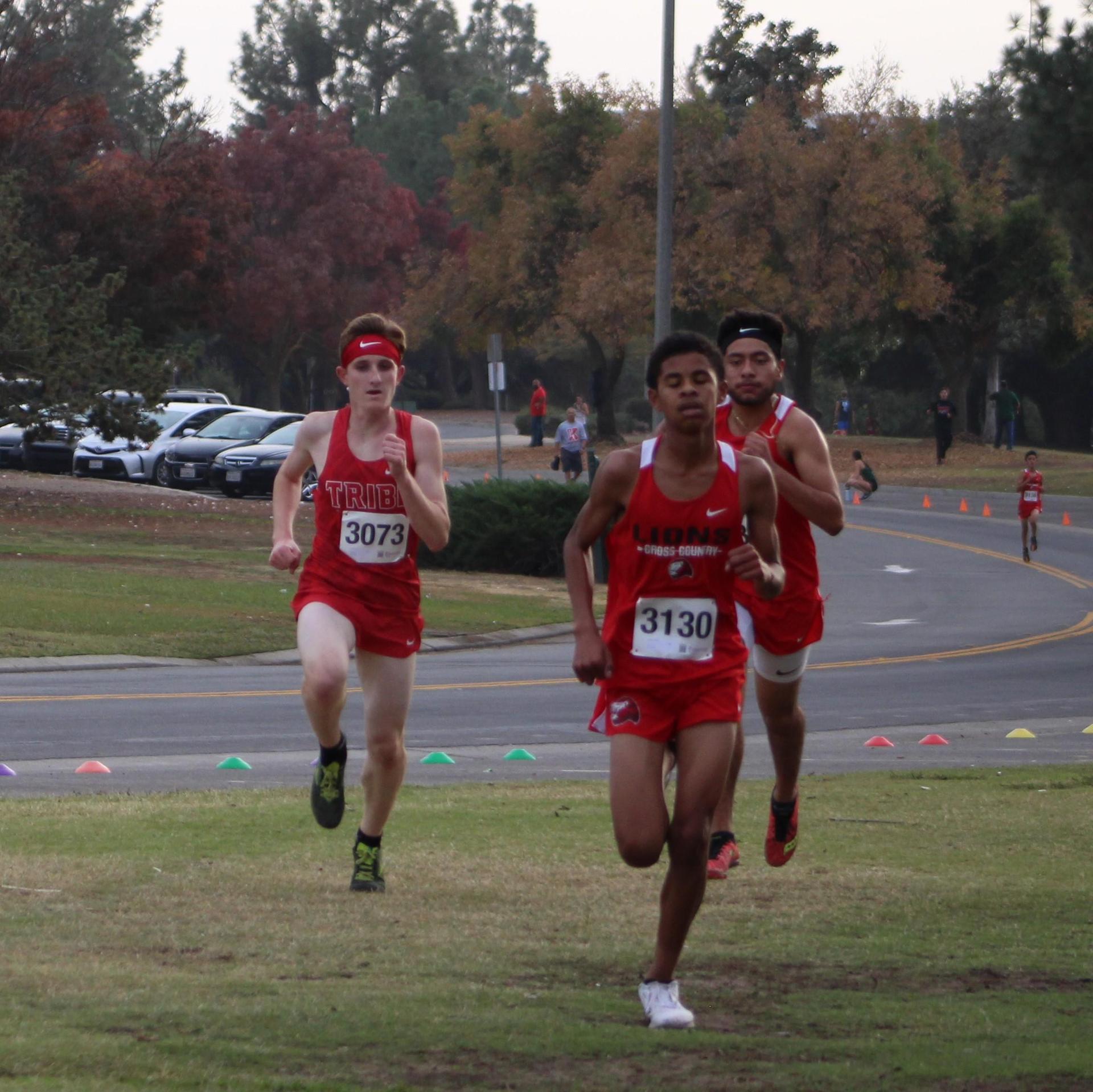 Jayce Harvey running