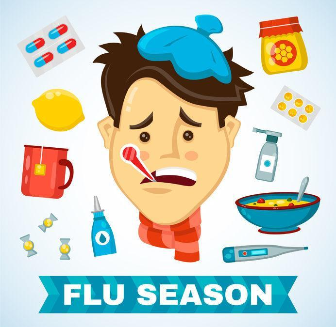 FLU SEASON IS HERE Featured Photo