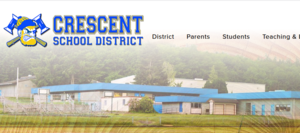 Crescent website snip