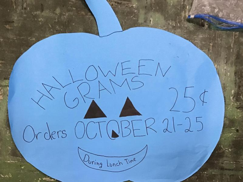 Student Council Halloween Grams - Click for more details Featured Photo