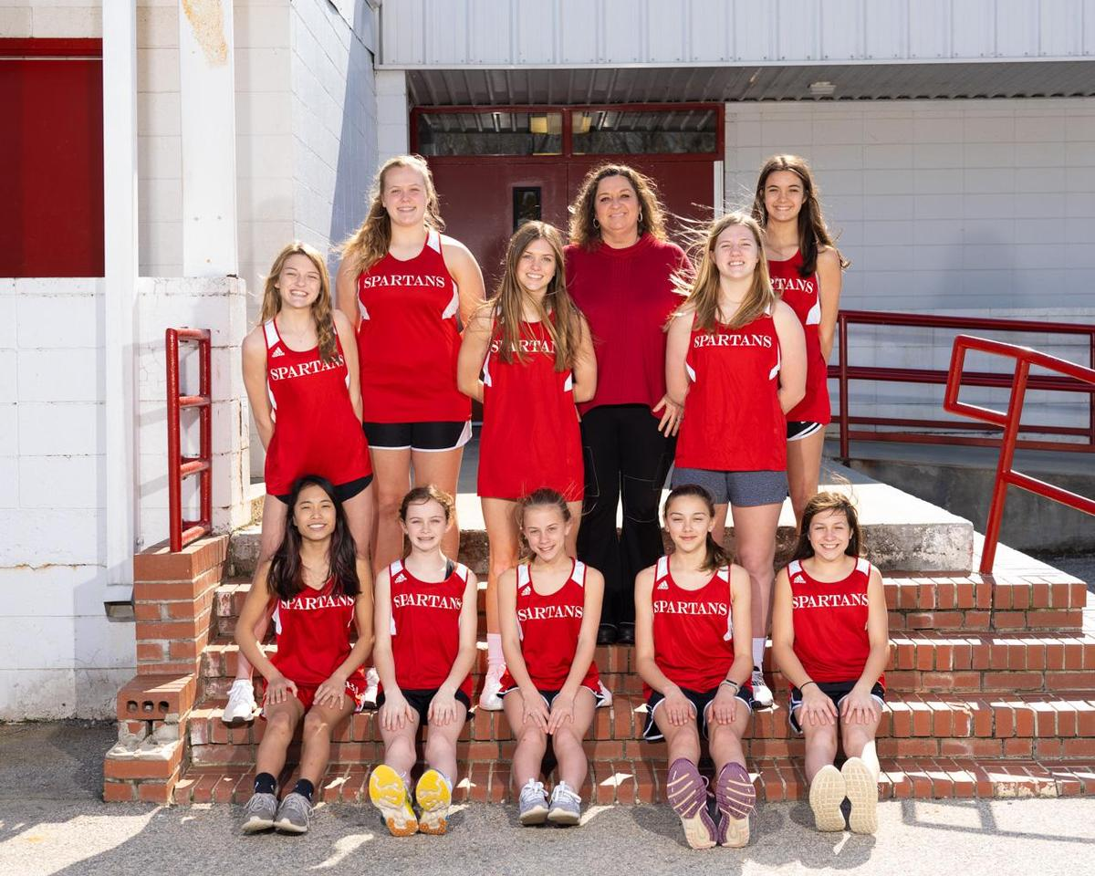 MS Girls Track Team