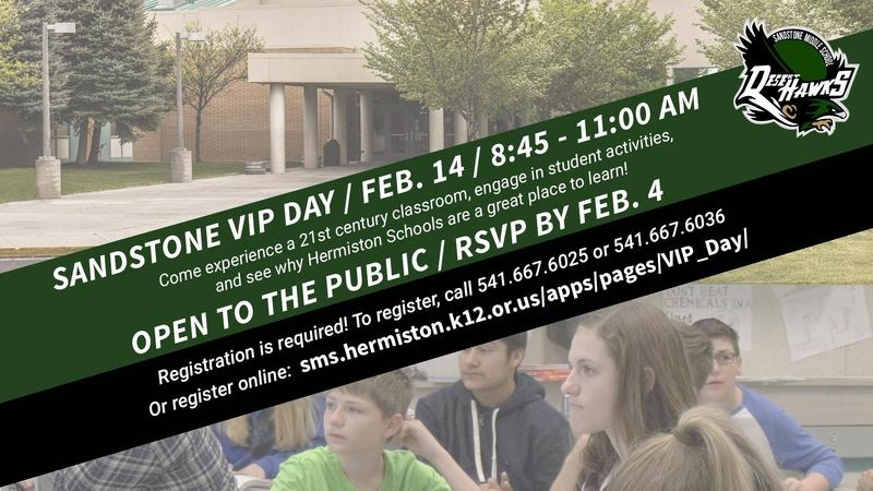 Register now for VIP Day, coming up Feb. 14! Featured Photo