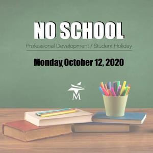 no school october 12