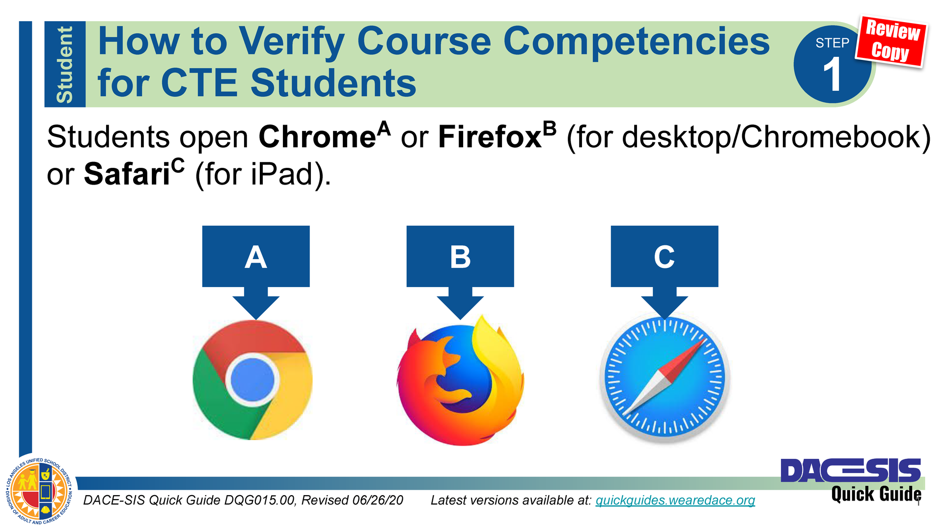 How to Verify Course Competencies for CTE Students – Thumbnail