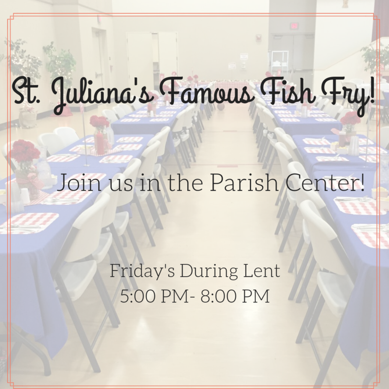 St. Juliana's Famous Fish Fry Featured Photo