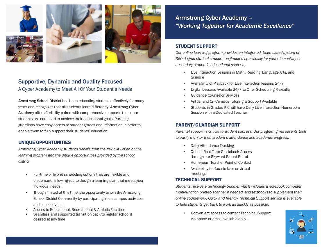 Armstrong Cyber Academy - Page 2