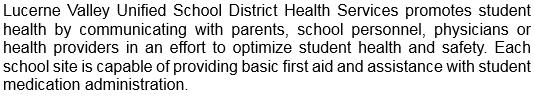 Health Services Info