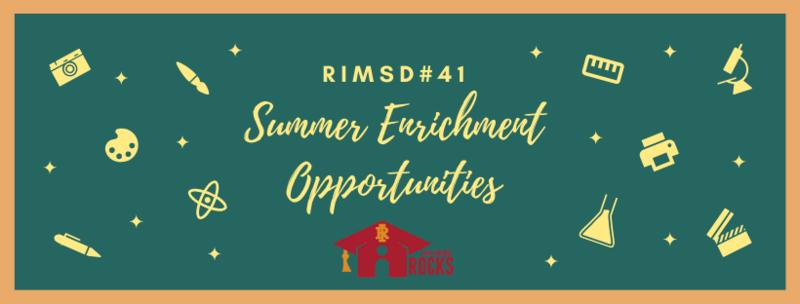 RIMSD#41 Offering Virtual STEM Camp Featured Photo
