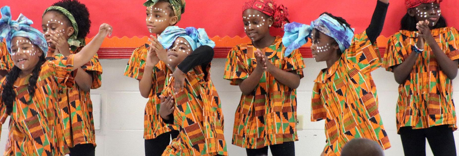 KBP students dance at Black History Month celebration