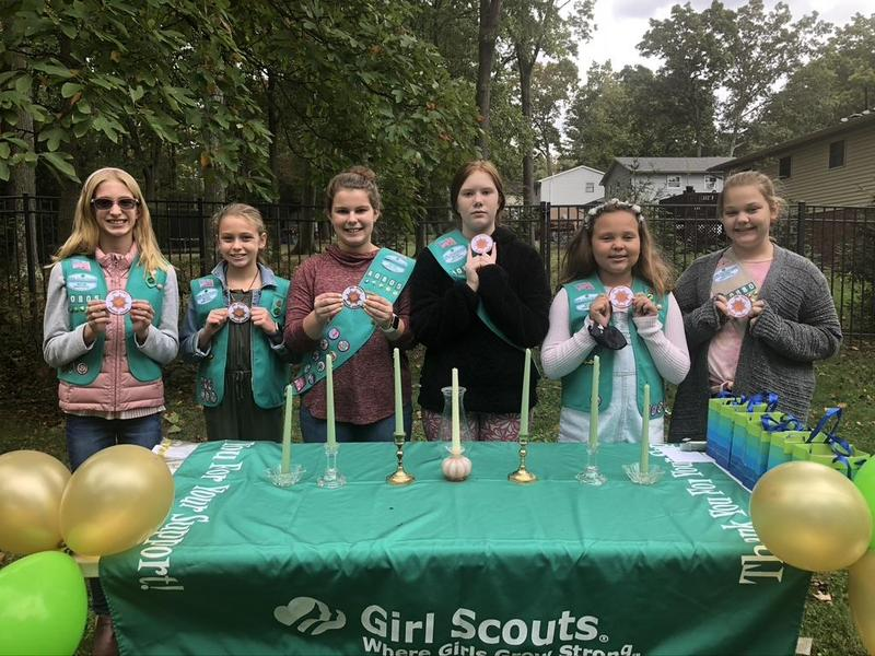 Girl Scout Award Picture