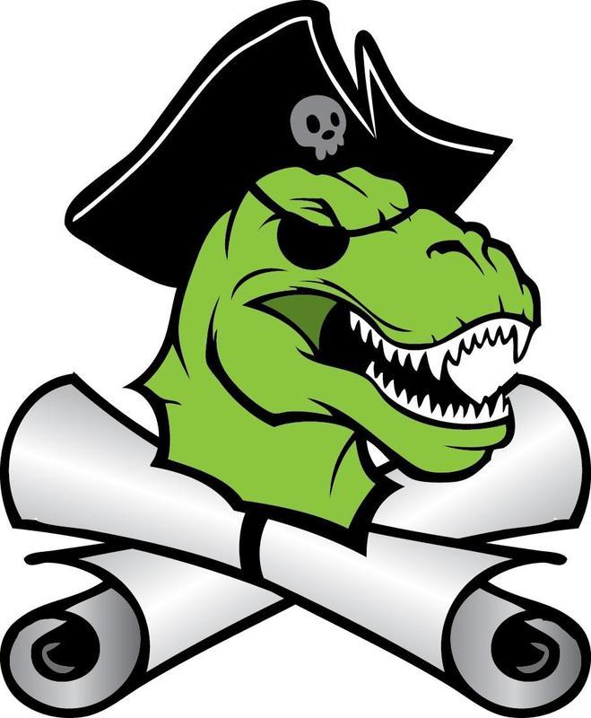 Image of Pirate Dinosaur