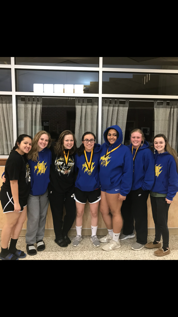 Lady Falcon Tournament medal winners