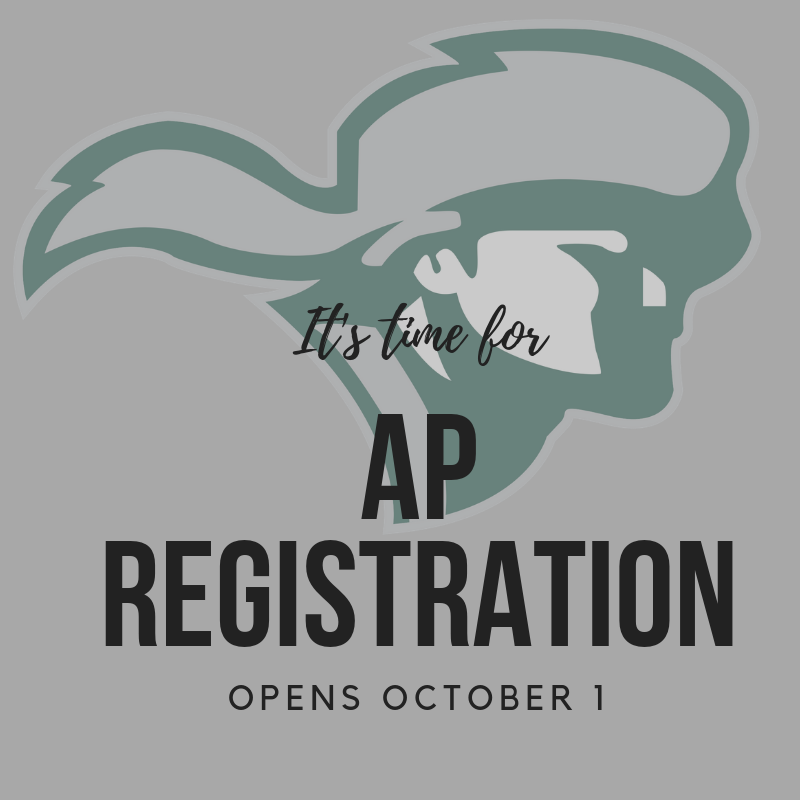 Click here for AP Registration! Thumbnail Image
