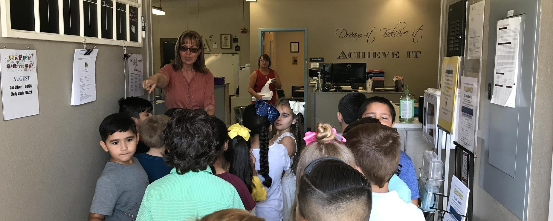 2nd grade office visit