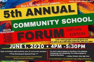 5th Annual Community School Forum