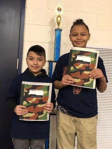Writing Contest Winners