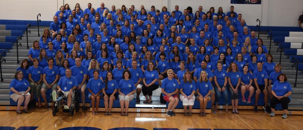 picture of the Bloomfield CSD staff