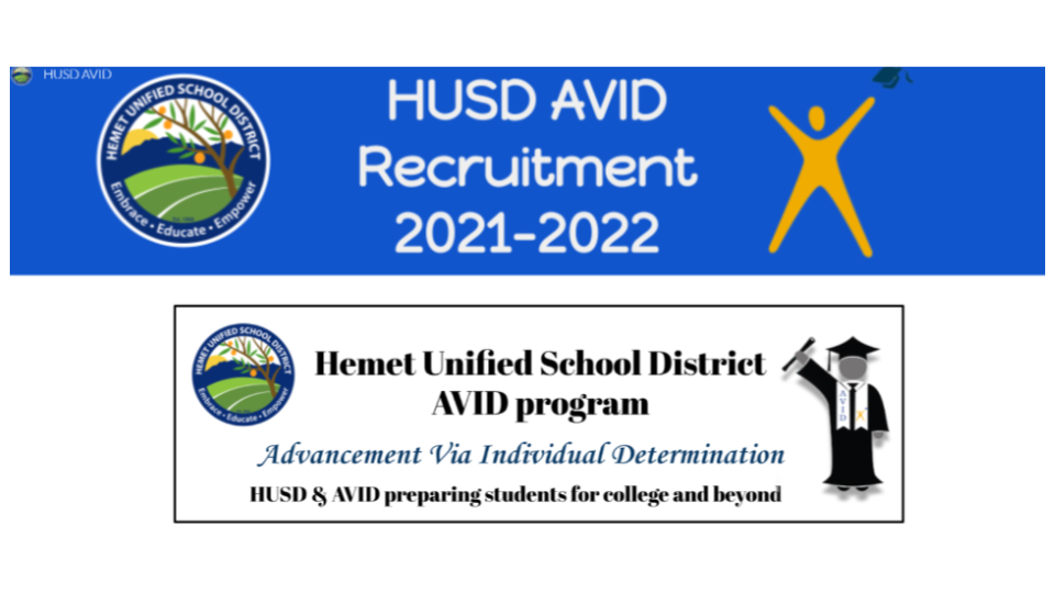 HUSD AVID Webpage