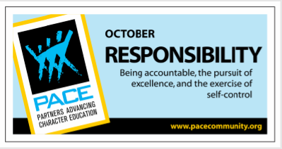 PACE Trait for October is Responsibility