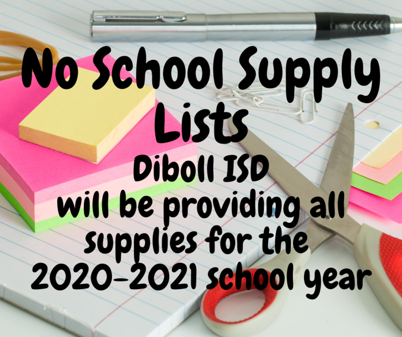 Diboll ISD Board of Trustees Approve Purchase of School Supplies for all students Thumbnail Image