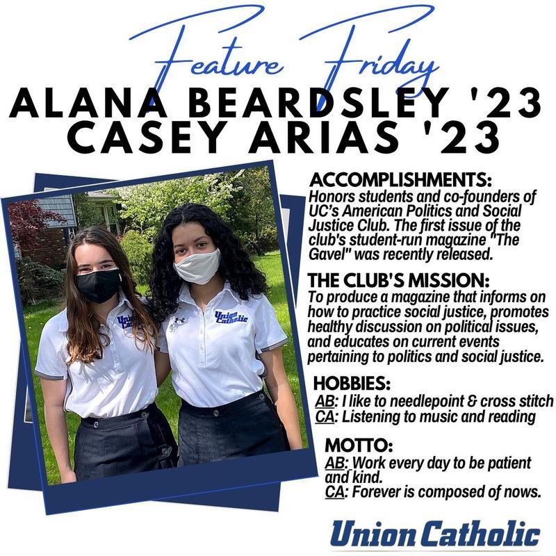 Arias and Beardsley Are Making a Big Impact at Union Catholic Thumbnail Image