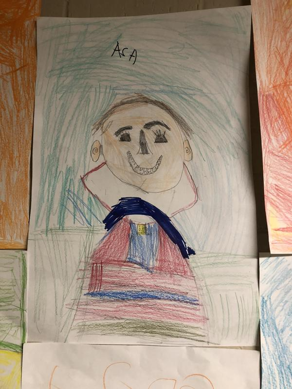 Asa's self portrait