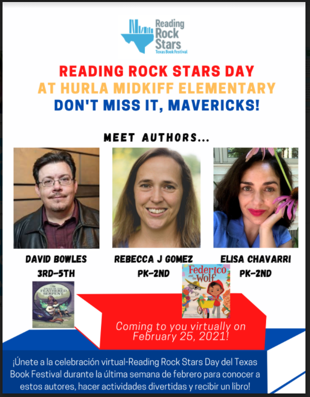Virtual Author Visit-Reading Rock Stars! Coming Soon! Featured Photo
