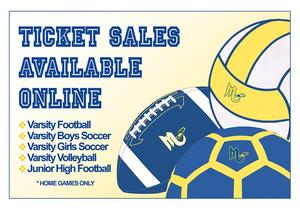 Ticket Sales Available Online for Fall Sports