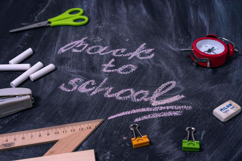 Welcome back to school message/image